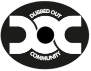 Dubbed Out White Logo